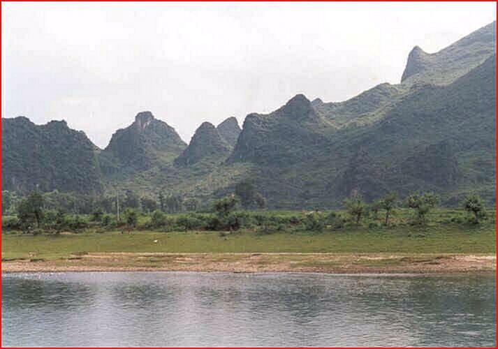 Příroda v oblasti Kuejlin