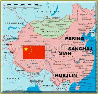 Dovolená v Číně