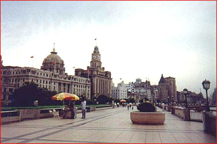 Šanghaj nábřeží Bund