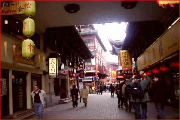 Obchody v Šanghaji