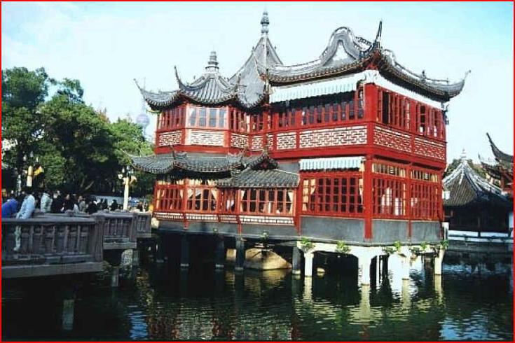 Šanghajská zahrada Yuyuan