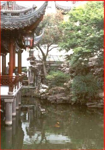 Šanghajská zahrada Yuyuan 2