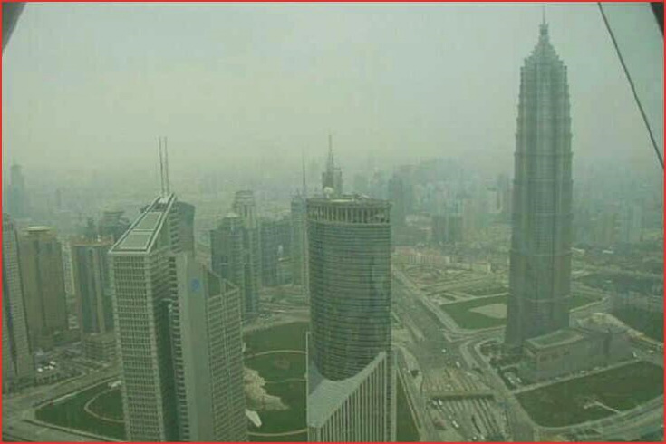 VYhlídka na Šanghaj