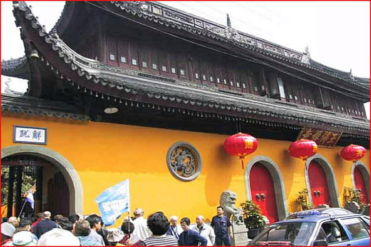 Youfosi - chrám jadeitového buddhy